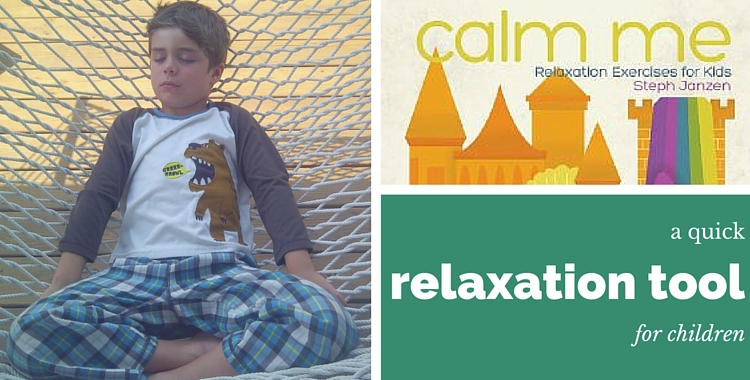A Quick Relaxation Tool for Children|theyogaletters.com